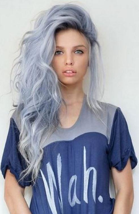 gri saç tonları