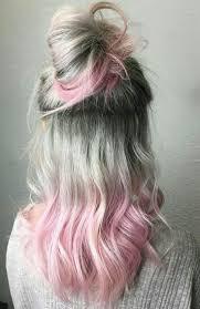 pembe gri saç rengi