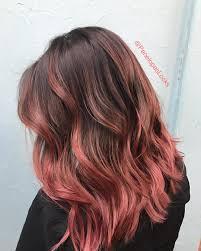 çikolata rose gold saç boyası