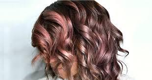 çikolata rose gold saç rengi