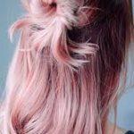 altın gül saç rengi