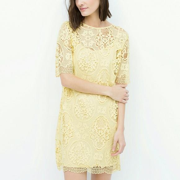 güpür mini elbise