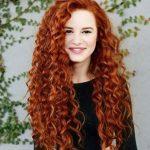 kızıl perma saç