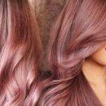 rose gold saç tonlari