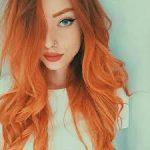 saçta turuncu trendi