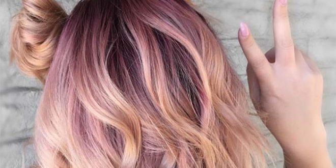 Rose Gold Saç Rengi