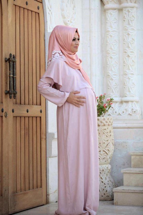 tesettürlü hamile abiye