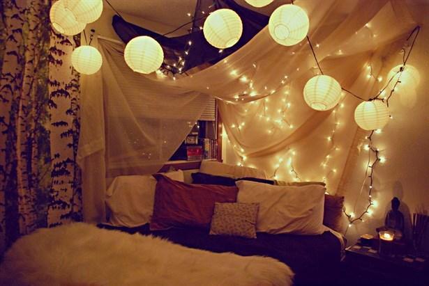 farkli yatak odasi dekorasyonu