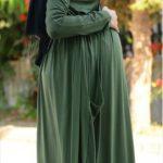 hamile tesettür elbiseleri