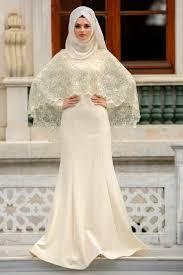 tesettür nikah elbise