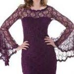 ispanyol kol dantel elbise