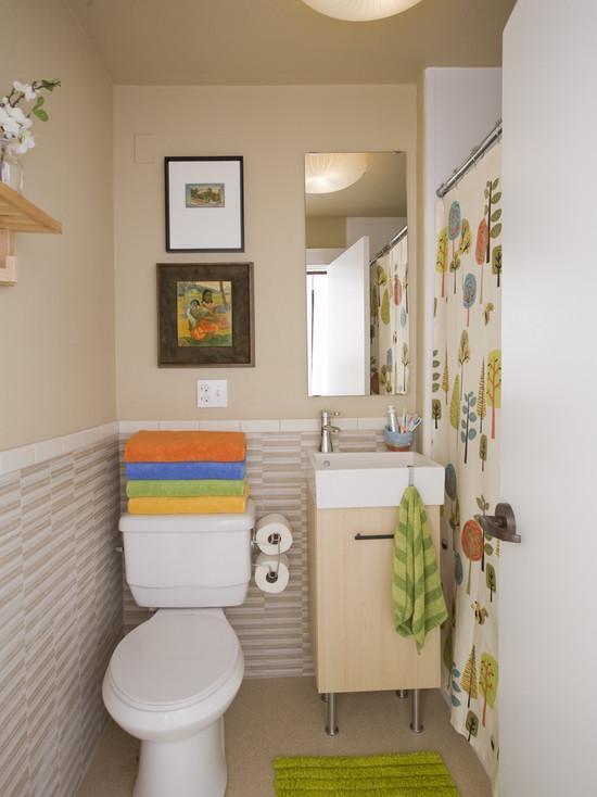 kücük banyolar nasil dekore edilir