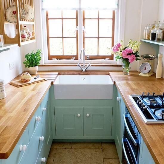 kücük mutfaklar nasil dekore edilmeli