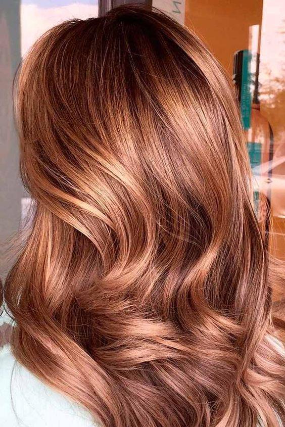 karamel saç tonu