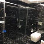 siyah banyo dekorasyon