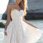beyaz kisa elbise