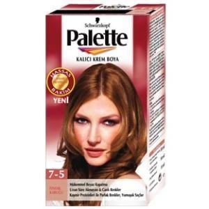 palette saç boyası fındık kabuğu