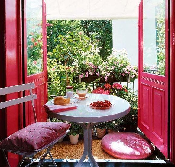renkli balkon tasarımları