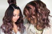 Çikolata Leylak Saç Rengi