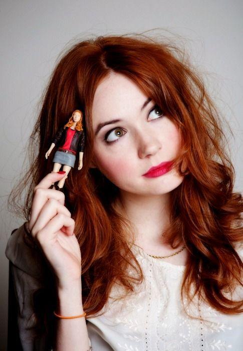 bakır kızıl saç modelleri