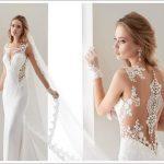 transparent bridal dress 2019