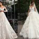 transparent bridal dress 2019-2020
