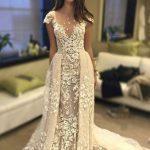 transparent bridal dress 2020