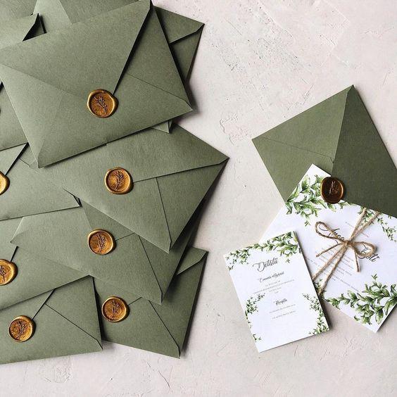 dugun davetiyesi zarf modelleri muhurlu