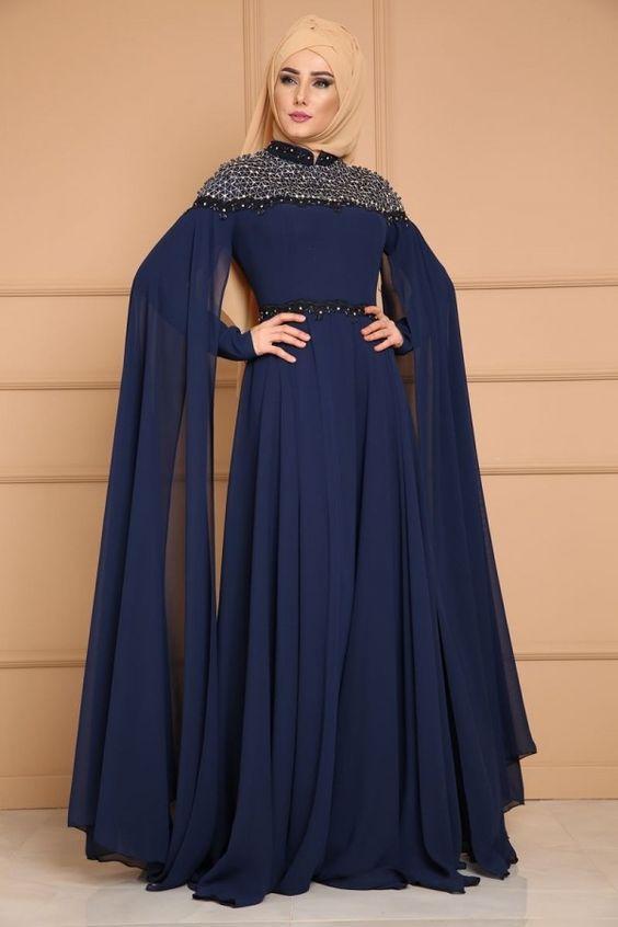 islemeli abiye elbise modelleri
