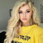 blonde hairs modals