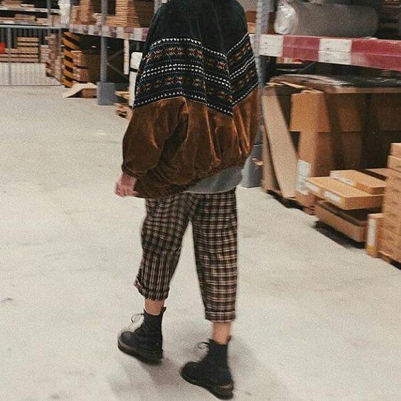 kareli pantolon modeli