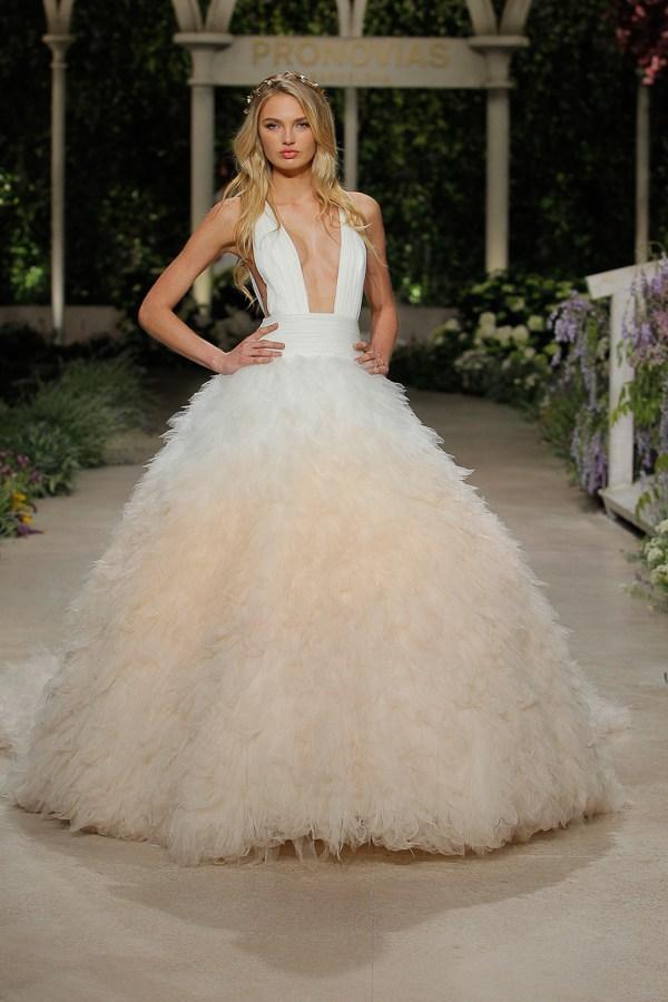 pronovias wedding dress 2019
