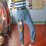 vintage jean modals