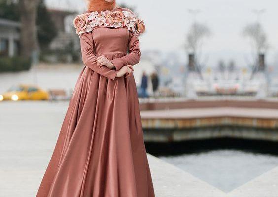 Tesettür Mezuniyet Elbisesi Modelleri