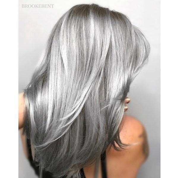 Gri Saç Modelleri Ve Gri Saç Ile Yapılmış En Güzel 10 Model