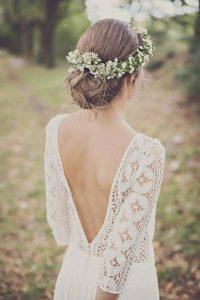 kır çiçekli saç modelleri