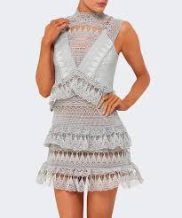 güpür dantelli elbise