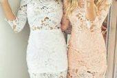 Güpür Elbise Modelleri