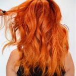 ombre turuncu renk