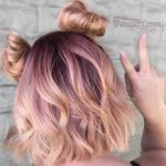 rose gold saçı