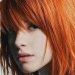 turuncu sac boyası