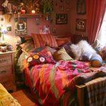 bohem tarzi yatak odasi