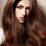 bronze brown hair