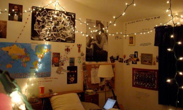 erkek genc odasi dekorasyonu