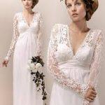 uzun nikah elbise modelleri