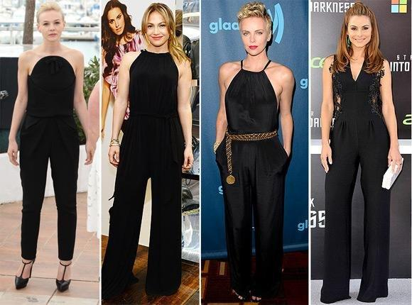 black modal overalls