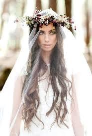 romantik gelin saç modei