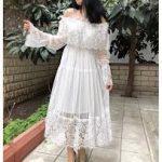 beyaz elbise modelleri 2018