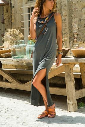 Yazın Vazgeçilmezi Uzun Elbise Modelleri 2018
