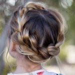 örgülü doğal saç modelleir